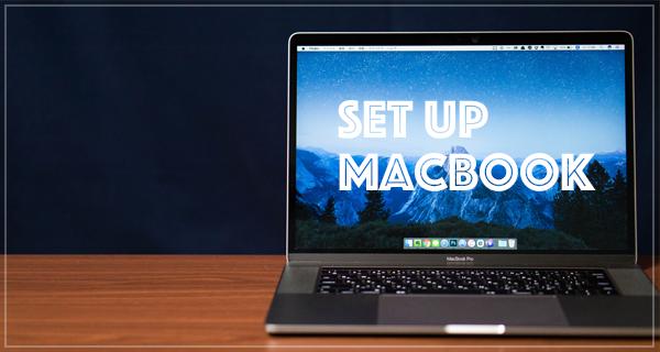 新Mac購入後の初期設定まとめ!初心者向けセットアップ編