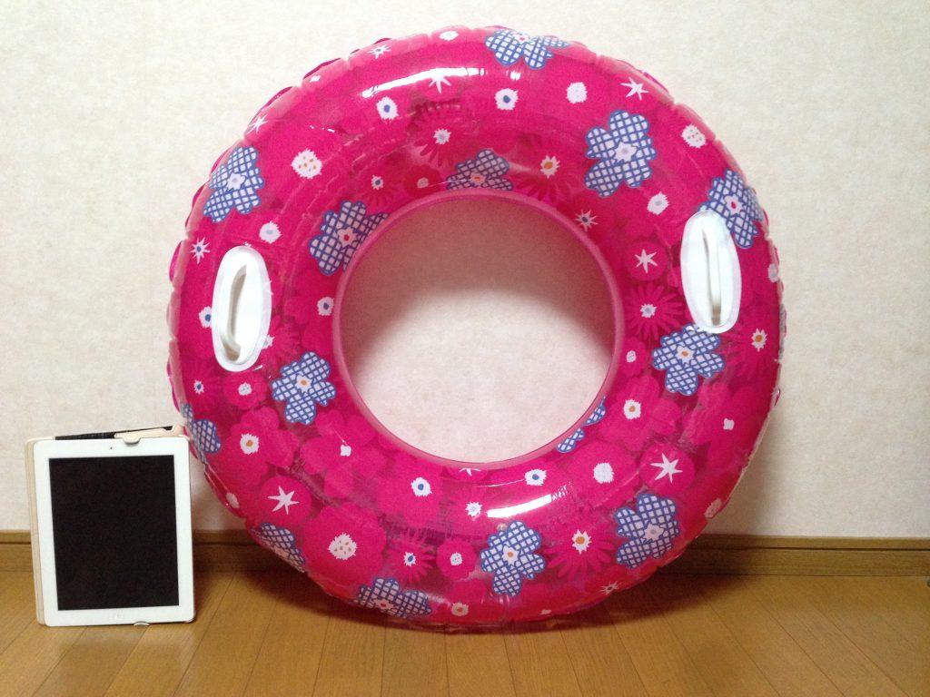 これが300円の浮き輪!