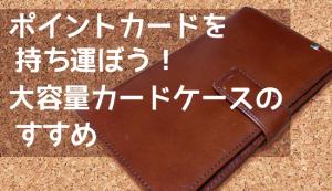 ポイントカードを持ち歩こう!30枚入る、大容量Milagro革製カードケースがおすすめ!