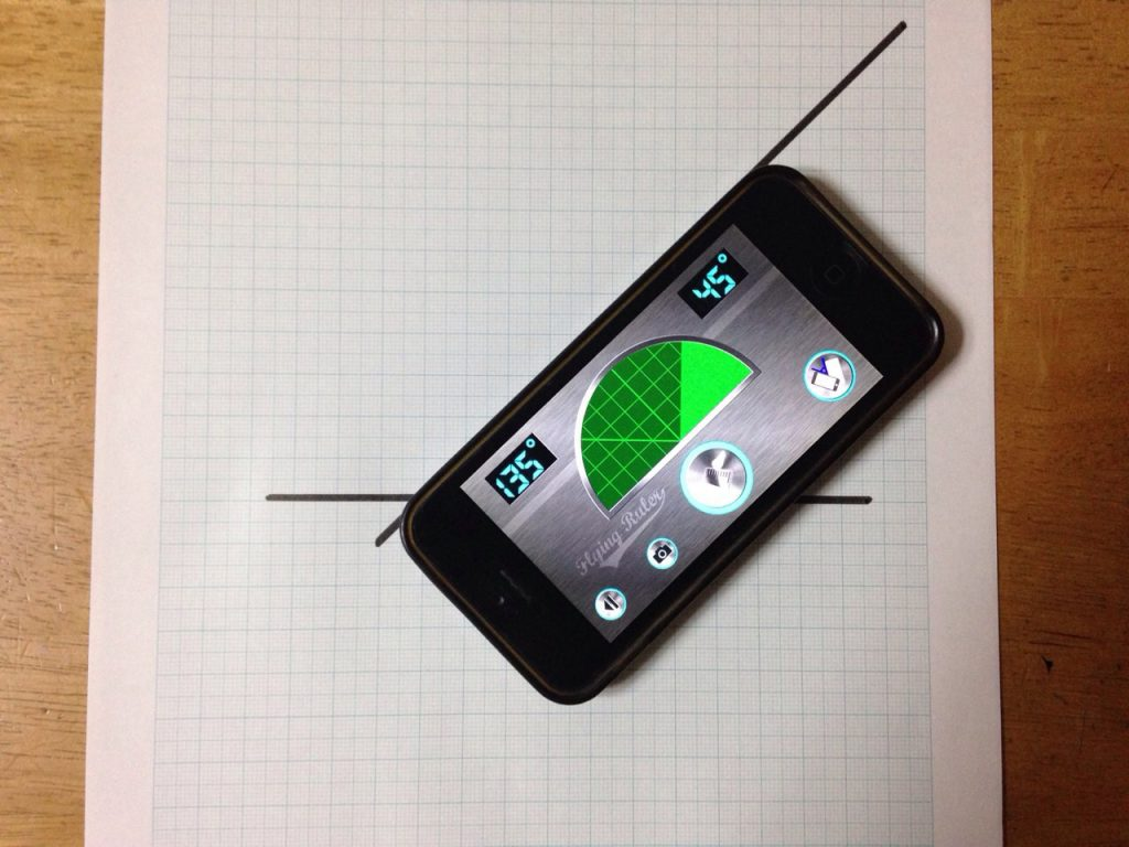 iPhoneを回して測定