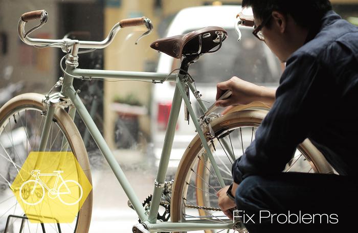 自転車乗りの方にぜひ