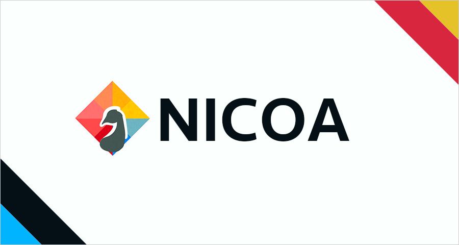 ブログ完全リニューアル!新サイト名は「NICOA」です!