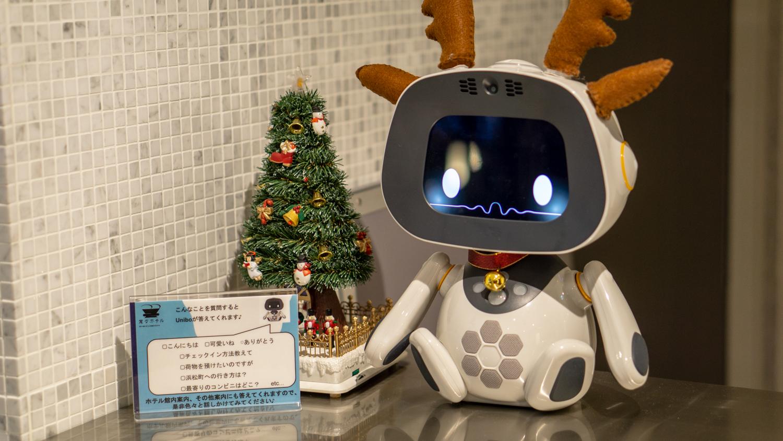 小さなおしゃべりロボット