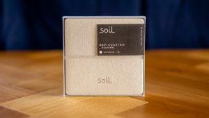 soilの珪藻土水切り